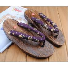 mode décontractée en bois pantoufle femmes à vendre nouveau style