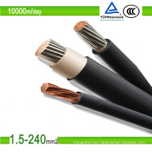 Competitive & Approval Photovoltaic Solar Cable 16mm2 TUV