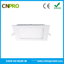 IP44 Ultra Slim Square Shape 18W LED Panel Light