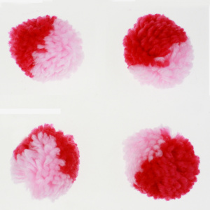 Valentine Craft accessory pompom ball