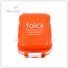 Mini Kunststoff Pill Box, rechteckige Mini Pille Fall