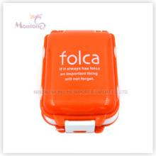 Mini boîte à pilules en plastique, mini boîte à pilules rectangulaire