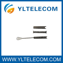 6 Пара Вспомогательное Оборудование Оптического Волокна Нержавеющей Стали Струбцин Провода Для Ввода Телекоммуникаций