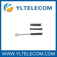 6 pares de accesorios de fibra óptica Acero inoxidable Telecom Drop Wire Clamps