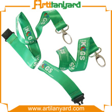 Promotional Gift Satin Lanyard no minimum order
