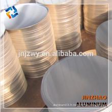 Disque en aluminium de qualité supérieure à usage général