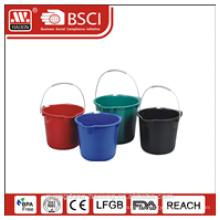 plastic bucket w/o lid 8L/13L