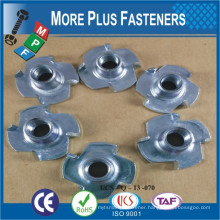 High Quality DIN1624 Carbon Steel T Nut Claw Nut Tee Nut