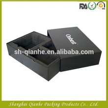 black foam lined gift boxes