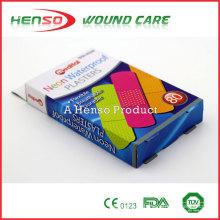 HENSO imperméable à l'eau stérile imperméable à la couleur Band Aid