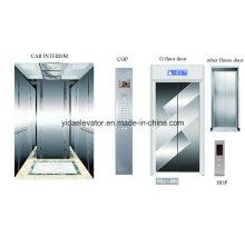Пассажирский лифт с офортом из нержавеющей стали