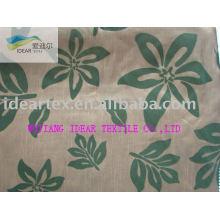 Polyester knotig beflockter Stoff für Heimtextilien