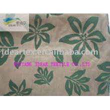 Polyester Slubbed Flocked Fabric for Hometextile