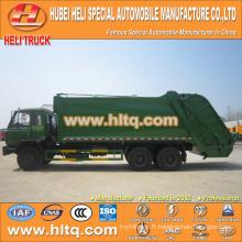 DONGFENG 6x4 16/20 m3 compacteur à ordures camion moteur diesel 210hp avec mécanisme de pressage