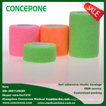 Manufacturer for Comfortable Cotton Elastoplast Bandage, Non-Woven Self-Adhesive Medical Elastic Bandage/ Crepe Bandage