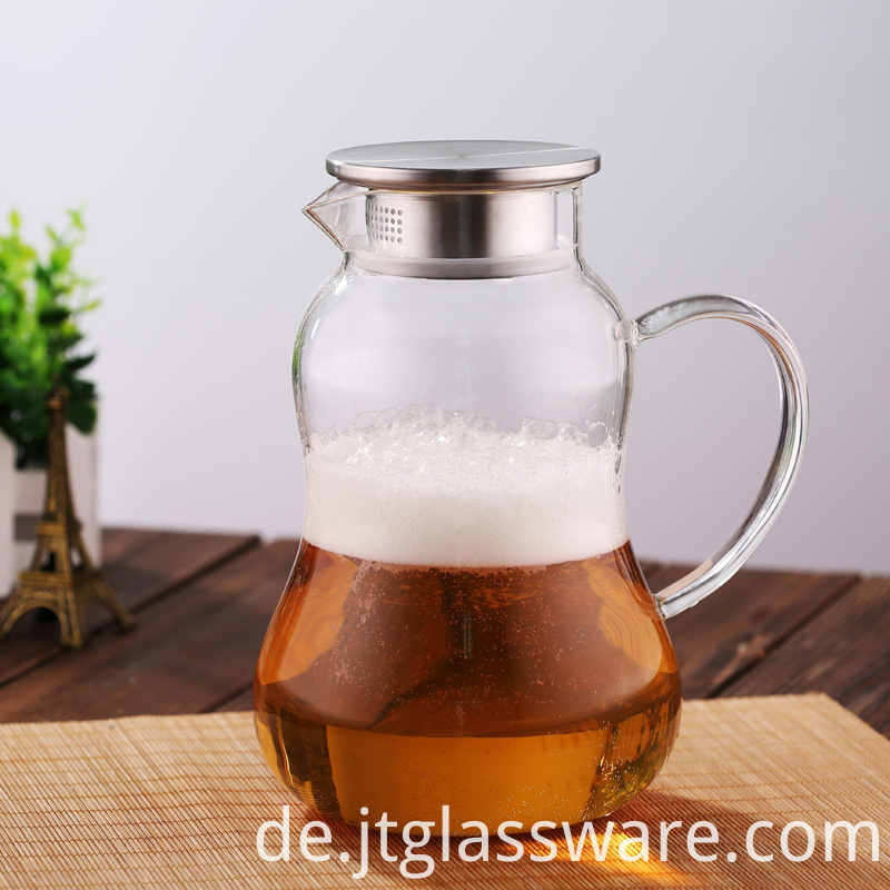 Handle Beverage Pitcher for Homemade Juice & Iced Tea