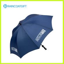 Guarda-chuva de golfe de publicidade ao ar livre de fibra de vidro