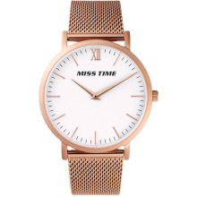 custom design your own brand mesh band quartz watch