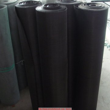 12 Mesh Black Wire Cloth Rubber Filtration
