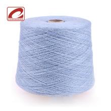 Laine à tricoter en laine mélangée consinée