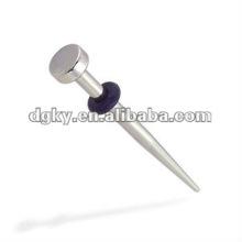 stainless steel ear taper cheap ear tunnel jewelry body piercing jewelry