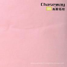 Tissu en coton T400 de 60 ans, tissu en coton élastique en polyester pour le Shirting