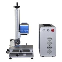 máquina de marcação não metálica e metálica de fibra de laser
