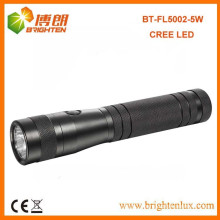 Factory Supply Heavy Duty Powerful 2D Cell Battery Used Aluminum XPG 5W Cree led Torch