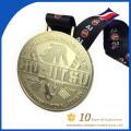 Free design custom metal tiger pattern super quality gold medal