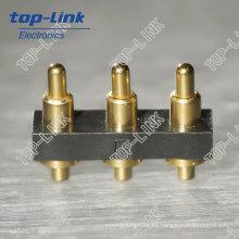 Durable Pogo Pin conector de la batería para el teléfono móvil