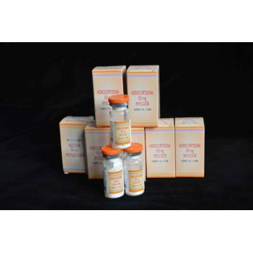 Hidrocortisona inyectable 500MG