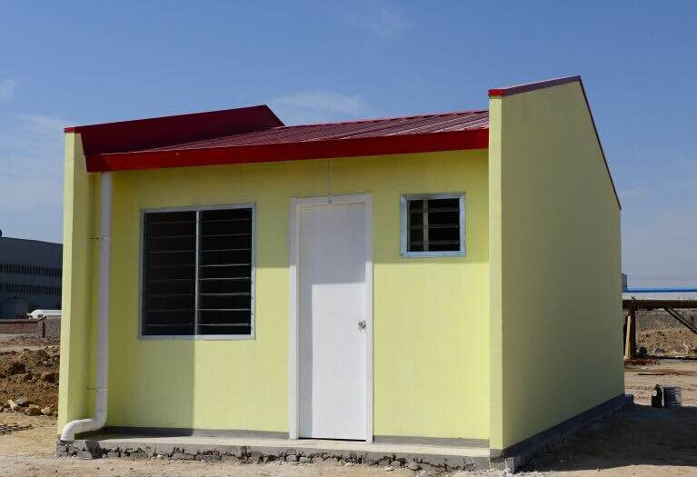 Sandwich Panel House for Refugee