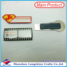 Magnetic Name Badge Film Design