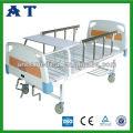 Hospital ABS triple-folding munual bed CE