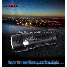 Jexree Cree lampe XM-L LED3000 Lumen en alliage d'aluminium rechargeable lampe de poche LED