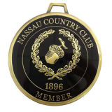 Zinc Alloy Medals, Soft Enamel with Epoxy, Gold-plated, Customized Designs are Accepted