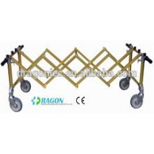 ДГ-TR004 складывая тележка руки Золотой алюминиевого сплава вагонетки Церков