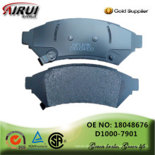 Pastillas de freno de disco, calidad OE, fabricante de piezas de automóviles de ventas calientes (OE: 18048676 / D1000-7901)