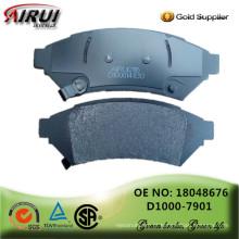 Almofadas de freio de disco, qualidade de OE, fabricante peças de automóvel de vendas quentes (OE: 18048676 / D1000-7901)