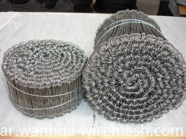 18gauge 7 inches double loop galvanized steel wire ties (1)