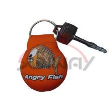 Chaveiro de neoprene chaveiro titular da chave do anel para a palma (PP0021)