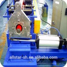 Plaza Pitorrobajo rollo formando máquina perfiladora de tubo frío de la máquina