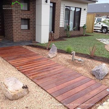 cubierta impermeable al aire libre de madera