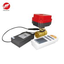 Actionneur de soupape à bille électrique pvc à commande motorisée