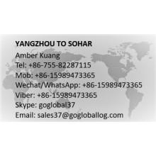Jiangsu Yangzhou to Oman Sohar