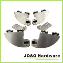 Puertas abatibles sin Frameless Pivote superior que fija el lado derecho (EF002R)