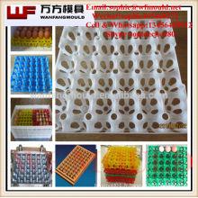 Moulage par injection en plastique fait sur commande de fournisseur de moule / palette d'OEM d'injection en plastique pour la palette d'oeufs
