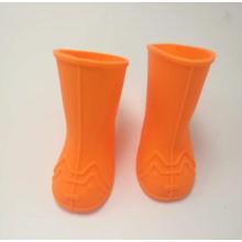 sapatas antiderrapantes de borracha do cão de chuva do silicone