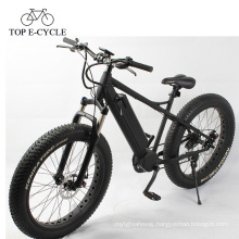 750W fat tire ebike 26inch electric bike e bicycle