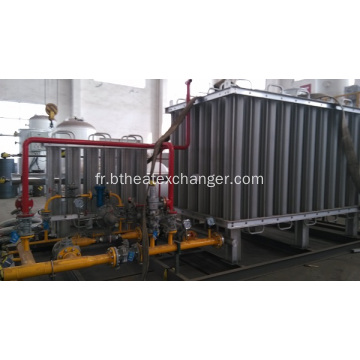 600NM3 LOX VAPORISATEUR MOBILE SKID